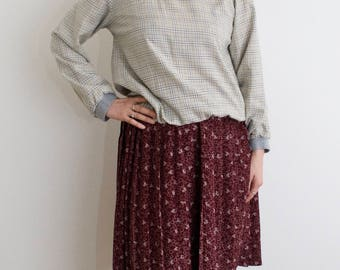 Vintage 90's Over the Knee Skirt