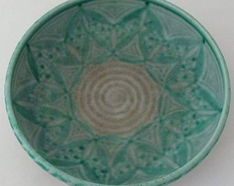 Pilkingtons Royal Lancastrian Lapis Ware Bowl - British Art Pottery