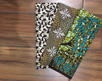 Weeping Willow African Wax Print Fat Quarter Bundle