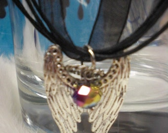 Gaurdian Angel Wing Necklace
