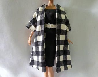 Made to Order - Coat and Dress for Model Muse Silkstone Barbie Doll
