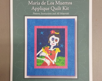 Applique Quilt Kit- Maria de los Muertos