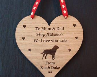 Labrador Valentine's Day Gift, Valentine's Day Gift, Valentine's Gift for Dog Lovers,Valentine's Labrador Gift,Valentine's Gift from the Dog