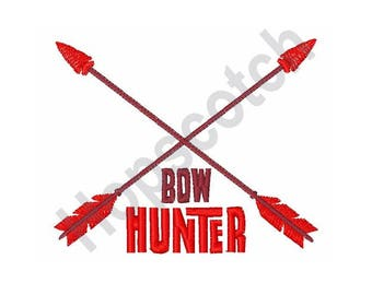 Bow Hunter - Machine Embroidery Design