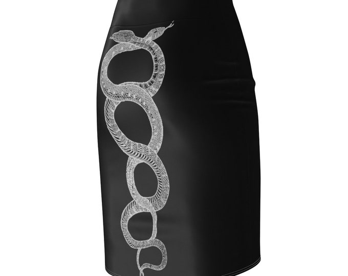 Serpentis Pencil Skirt