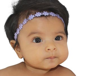 Baby Headband, Lilac Headband, Baby Headbands, Headbands For Babies, Infant Headbands, Newborn Headband, Halo Headband, Toddler Headband