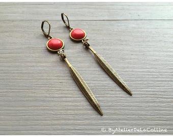 Art deco earrings, Appolline collection