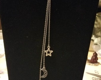 Star Fall Multi-strand Necklace