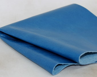 Sapphire Blue Genuine Leather