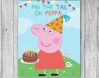 Pin the Tail on the Peppa(Digital)