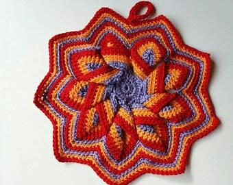 Crochet Cotton Pot Holders
