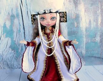 Textile handiwork doll