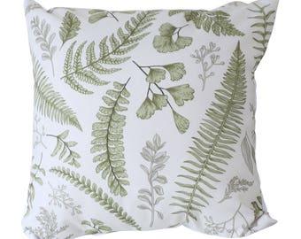 Nordic green leaves pillow sandinavian minimalist geometric modern stylish decorative pillow cover pillow