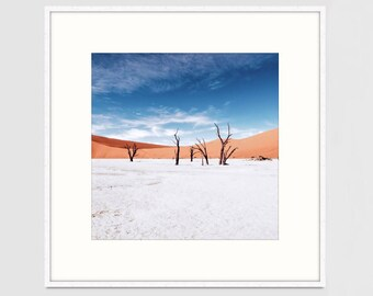 Made-to-order African Africa Desert Local Dead Valley Photography Print Large Wall Art