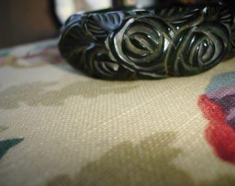 1N Carved Bakelite Bracelet
