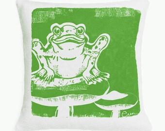 Kiddos Froggie 10in Pillow