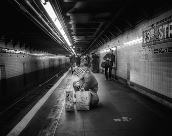 23rd Street with Groceries