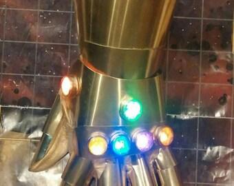 Metal Cosplay Infinity Gauntlet