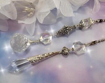 Crystal Fan Pull, Ceiling Fan Pull, Crystal Light Pull, Beaded Fan Pull, Fan Pull, Lamp Pull, Chain Pull, Fan Pull Chain, Crystal Beads