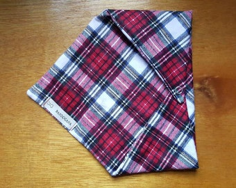 Red Flannel Dog Bandana