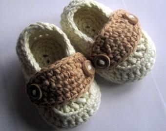 Bébé chaussons coton petit bouton mocassins tailles nouveau-né à travers 12 mois vous choisissez la taille et couleurs