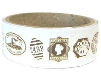Paper Sticker Tape Stamps SM202832