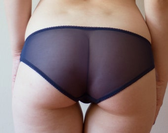 Navy Panties - Sweet Tooth Lingerie