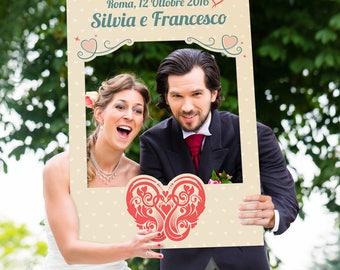 Wedding Photo Booth Frame-Heart