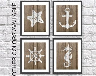 Items Similar To Nautical Art Prints