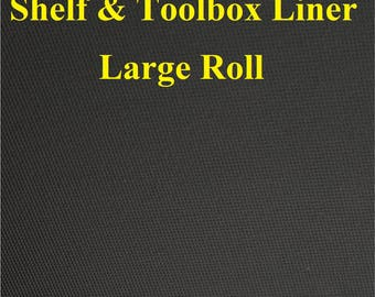 Shelf Cabinet & Toolbox Liner for home shop garage and office prevent rust scratches and scuffs on metal cabinets shelves closets 1 roll