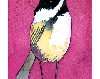 State Birds - Chickadee