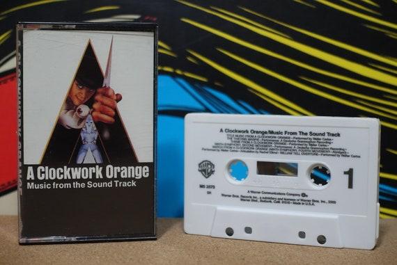 Stanley Kubrick's A Clockwork Orange by Various Artists Vintage Cassette Tape