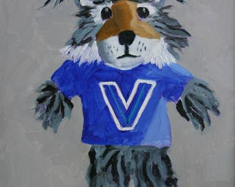 Villanova Wildcat - Digital Download for Phone Wallpaper