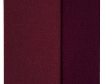 New Color!  Gloria Doublette Double Sided Crepe Paper For Flower Making Germany Plum And Aubergine  #3352
