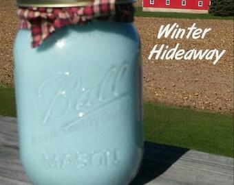 Winter Hideaway Soy Candle in 16 oz Jar