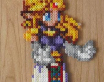 Zelda and Sheik Pixel Art