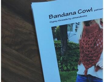 Bandana cowl PATTERN