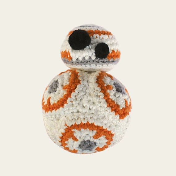 BB-8 - Star Wars. Crochet Doll, Amigurumi Toy, Crocheting, Made to Order, Droid, Robot, Spherical, Geek, Gift, Cinema