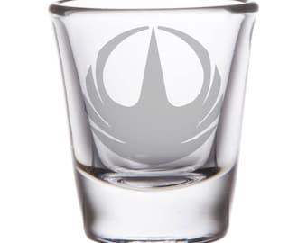 Star Wars Rogue One Shot Glass
