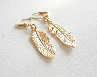 SALE - Little Feather Earrings