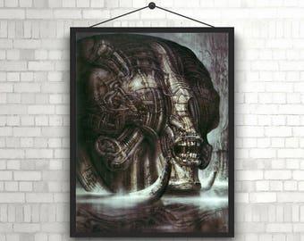 Alien Creature H. R. Giger Poster