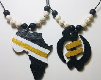 Africa Power and Royalty Necklace