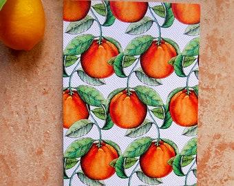 Oranges of Spain greeting card
