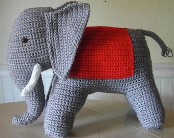 Crochet Elephant Pattern from 1940s