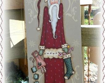Santa Joy by Sharon Bond, email pattern packet!