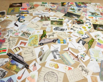170 Piece Ephemera Pack Small Images Illustrations Many Vintage Collage Mixed Media Altered Art Journals Smashbooks Junk Journals ATCs MORE