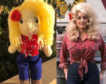 Dolly Parton doll