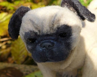 Pug, sew your own little dog, ebook with 113 pages
