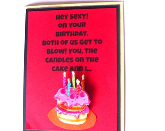 Birthday Cards For Husband Images ~ Naughty birthday card for boyfriend husband i ll give you the v