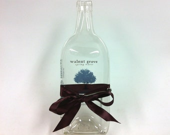 Melted Bottle Cheese Tray Walnut Grove Spring Water -- Eco Friendly Hostess Gift